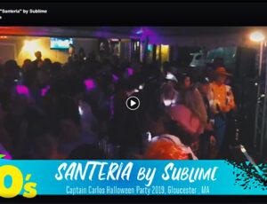 """Santeria"" at Captain Carlos Halloween Show"